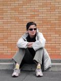 miejska dziewczyna Fotografia Royalty Free