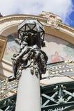 Miejski dom, rzeźba, mozaika, Praga, republika czech Obrazy Royalty Free