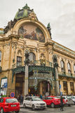 Miejski dom w Praga zdjęcie royalty free