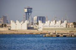 Miejski żeglowania Centre w Barcelona Fotografia Royalty Free