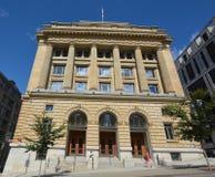 Miejski gmach sądu Obrazy Royalty Free