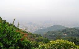 miejski krajobrazu Obrazy Royalty Free