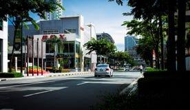 miejski miasta Obraz Royalty Free