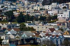 miejski mieszkalnictwa Obraz Royalty Free