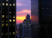 miejski słońca Zdjęcie Royalty Free