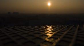 miejski słońca Obraz Stock