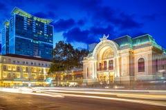 Miejski Theatre Ho Chi Minh miasto Fotografia Stock
