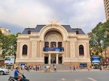 Miejski Theatre Ho Chi Minh miasto Fotografia Royalty Free