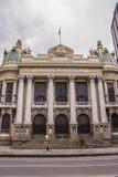 Miejski Theatre Rio De Janeiro Zdjęcie Royalty Free