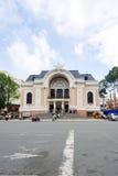 Miejski Theatre także znać jako Saigon opera Ho Chi Minh miasto Zdjęcia Royalty Free