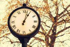 Starego stylu zegar Obraz Royalty Free