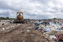 Miejski wysypisko dla gospodarstwo domowe odpady zdjęcie royalty free