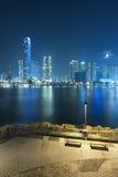 miejskiego pejzażu Hong kongu Zdjęcia Royalty Free