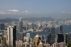 miejskiego pejzażu Hong kongu Zdjęcia Stock