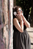 miejskiej muzyki Zdjęcie Royalty Free