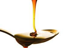 miel d'égouttement Photo libre de droits