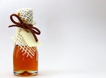 Miel dans la bouteille d'amour Photos stock