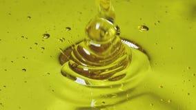Miel de colada Tirado en la cámara lenta