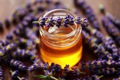 Miel de fines herbes image libre de droits