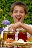 miel de garçon Photographie stock libre de droits