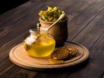 miel de la cal Fotografía de archivo libre de regalías