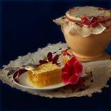 Miel de la flor Foto de archivo libre de regalías
