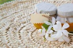 Miel del jazmín Foto de archivo libre de regalías