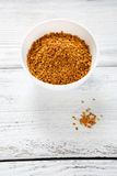 Miel del polen en un cuenco Foto de archivo