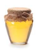Miel en blanco Foto de archivo libre de regalías