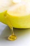Miel et pomme. Image libre de droits