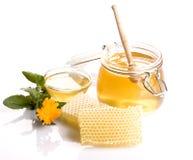 Miel frais photographie stock libre de droits