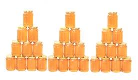 miel fresca aislada Imagen de archivo