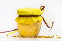 Miel herbaria aislada Imagen de archivo
