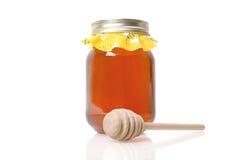 Miel orange de fleur Photo stock