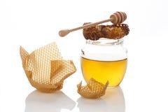 Miel orgánica. Foto de archivo libre de regalías