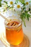 Miel y wildflowers imágenes de archivo libres de regalías
