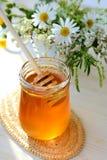 Miel y wildflowers fotografía de archivo libre de regalías