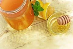 Miele come alimento sano e curativo Immagini Stock
