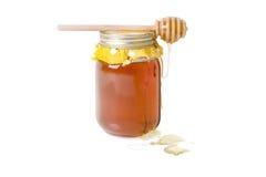 Miele del fiore d'arancio Fotografia Stock