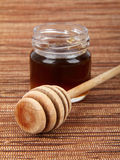 Miele della melata fotografia stock