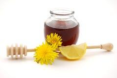 Miele e calce Fotografia Stock