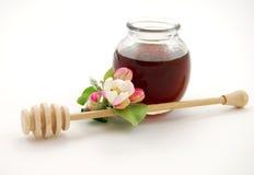 Miele e calce Fotografie Stock Libere da Diritti