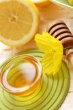 Miele e limone Fotografie Stock