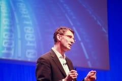 Miembro de SAP del consejo de dirección Bernd Leukert Imagenes de archivo