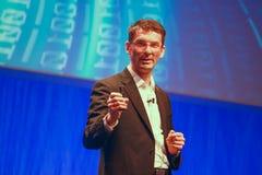 Miembro de SAP del consejo de dirección Bernd Leukert Imagen de archivo libre de regalías