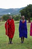 Miembro de una tribu del Masai Fotografía de archivo libre de regalías