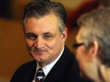 Miembro del Congreso Rob Andrews imagenes de archivo