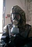 Miembro del equipo nuclear de la protección Imagen de archivo libre de regalías