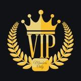 Miembro del Vip Imagenes de archivo