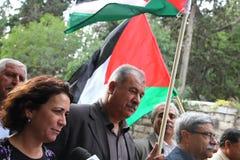 Miembro israelí Mohammad Barakeh del Knesset Fotos de archivo